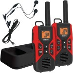 30-Mile 2-Way FRS/GMRS Radios with Headsets
