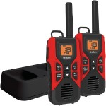30-Mile 2-Way FRS/GMRS Radios with Dual Charging Cradle