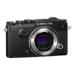 Olympus PEN-F - Digital camera - mirrorless - 20.3 MP - Four Thirds - 1080p / 60 fps - body only - Wi-Fi - black V204060BU000