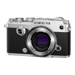 PEN-F - Digital camera - mirrorless - 20.3 MP - Four Thirds - 1080p / 60 fps - body only - Wi-Fi - silver