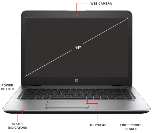 HP Inc  EliteBook 840 G3 - Ultrabook - Core i5 6300U / 2 4 GHz - Win 7 Pro  64-bit (includes Win 10 Pro 64-bit License) - 8 GB RAM - 500 GB HDD - 14