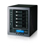 Thecus Technology N5810 - NAS server - 5 bays - SATA 6Gb/s - RAID 0, 1, 5, 6, 10, JBOD - Gigabit Ethernet - iSCSI N5810