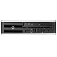 HP Inc. 8200 Elite Intel Core i5-2400S Quad-Core 2.50GHz Ultra-slim Desktop - 4GB RAM, 160GB HDD, DVD-ROM, Gigabit Ethernet - Refurbished RB-6755716554944