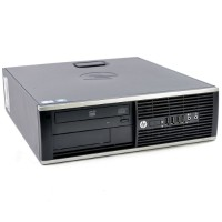 HP Inc. Elite 8300 Intel Core i5-3470 Quad-Core 3.20GHz Small Form Factor Desktop - 8GB RAM, 500GB HDD, DVD-ROM, Gigabit Ethernet - Refurbished RB-6755716554982