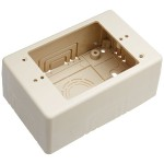 Wiremold Uniduct Single Gang Deep Junction Box