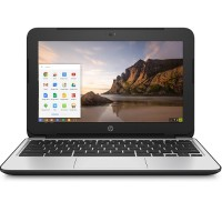 "HP Inc. Chromebook 11 G4 - Education Edition - Celeron N2840 / 2.16 GHz - Chrome OS - 4 GB RAM - 16 GB eMMC - 11.6"" TN 1366 x 768 (HD) - HD Graphics - Wi-Fi - black (keyboard) - kbd: US V2W30UT#ABA"