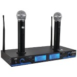 Pyle Premier Series UHF Wireless Microphone System PDWM2560