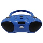 BOOMBOX WITH BLUETOOTH RECEIVER, CD/FM MEDIA PLAYER
