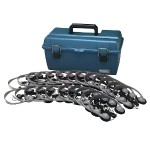Hamilton Buhl LAB PACK, 24 MS2LV PERSONAL HEADPHONES IN A CARRY CASE LCP/24/MS2LV