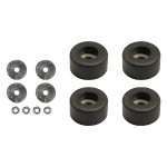 Set of 4 Rubber Feet for PowerStacker Charging Station Modules