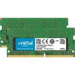 DDR4 - 16 GB: 2 x 8 GB - SO-DIMM 260-pin - 2400 MHz / PC4-19200 - CL17 - 1.2 V - unbuffered - non-ECC