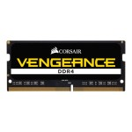 Vengeance - DDR4 - 64 GB : 4 x 16 GB - SO-DIMM 260-pin - 2666 MHz / PC4-21300 - CL18 - 1.2 V - unbuffered - non-ECC
