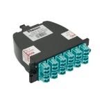 QuickNet MTP Fiber Optic Cassettes - Pre-terminated fiber optic cassette - LC MM X 24