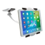 Wall, Under Cabinet & Desk Mount - Wall mount for tablet - soft rubber