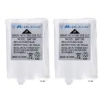 AVP14 - Battery 2 x - NiMH - 700 mAh - for X-TALKER T51VP3, T55VP3, T61VP3; X-TRA TALK LXT600VP3
