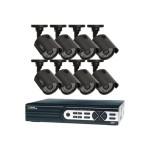 Q-See QTH16-8Z3-2 - DVR + camera(s) - 16 channels - 1 x 2 TB - 8 camera(s) - CMOS