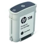 728 - 69 ml - matte black - original - DesignJet - ink cartridge - for DesignJet T730, T830