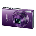 Canon PowerShot ELPH 360 HS - Digital camera - compact - 20.2 MP - 1080p / 29.97 fps - 12x optical zoom - Wi-Fi, NFC - purple 1081C001