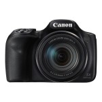 Canon PowerShot SX540 HS - Digital camera - compact - 20.3 MP - 1080p / 60 fps - 50 x optical zoom - Wi-Fi, NFC - black 1067C001