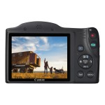 Canon PowerShot SX420 IS - Digital camera - compact - 20.0 MP - 720p / 25 fps - 42x optical zoom - Wi-Fi, NFC - black 1068C001