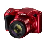 PowerShot SX420 IS - Digital camera - compact - 20.0 MP - 720p / 25 fps - 42x optical zoom - Wi-Fi, NFC - red