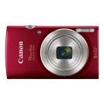 Canon PowerShot ELPH 180 - Digital camera - compact - 20.0 MP - 720p / 25 fps - 8 x optical zoom - red 1096C001