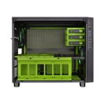 Core X5 - Riing Edition - cube - extended ATX - no power supply (PS/2) - green - USB/Audio