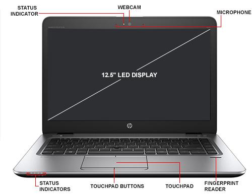 HP Inc  EliteBook 820 G3 - Ultrabook - Core i5 6200U / 2 3 GHz - Win 7 Pro  64-bit (includes Win 10 Pro 64-bit License) - 8 GB RAM - 256 GB SSD - 12 5
