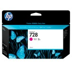 728 - 130 ml - dye-based magenta - original - DesignJet - ink cartridge - for DesignJet T730, T830