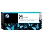 728 - 300 ml - matte black - original - DesignJet - ink cartridge - for DesignJet T730, T830