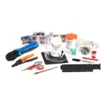 Deluxe Fiber Termination Kit (Open Box Product, Limited Availability, No Back Orders)