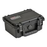 3I Series 0705-3 - Hard case - ultra high-strength polypropylene copolymer resin - black - with cubed foam
