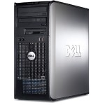 OptiPlex 760 Intel Core 2 Duo 3.16GHz Mini Tower PC - 4GB RAM, 2TB HDD, DVD+/-RW, Gigabit Ethernet - Refurbished