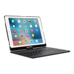 VersaType - Keyboard and folio case - wireless - black keyboard, black case - for Apple iPad Air 2