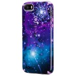 CandyShell Inked iPhone SE, iPhone 5s & iPhone 5 Cases -  Galaxy Purple/Revolution Purple