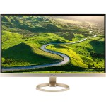 "H277HU - LED monitor - 27"" - 2560 x 1440? - 350 cd/m² - 1000:1 - 4 ms - HDMI, DisplayPort - speakers - white, gold"