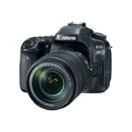 Canon EOS 80D - Digital camera - SLR - 24.2 MP - 1080p / 60 fps - 7.5 x optical zoom EF-S 18-135mm IS USM lens - Wi-Fi, NFC 1263C006