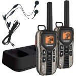 40-Mile 2-Way FRS/GMRS Radios with Headsets (Realtree Camo; NiMH Batteries)