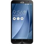 "Asus ZenFone 2 Z3580 64GB Unlocked GSM Phone - Android 5.0 Lollipop, 5.5"" Touchscreen, 4GB RAM, 64GB, 13MP & 5MP Cameras, 4G,Wi-Fi, Dual SIM Bluetooth 4.0, NFC, 3000mAh - Silver"