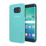 feather Pure Ultra-Thin Clear Snap-On Case for Samsung Galaxy S7 edge - Teal
