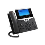 IP Phone 8841 - VoIP phone - SIP, RTCP, RTP, SRTP, SDP - 5 lines - charcoal - refurbished