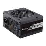 SF Series SF600 - Power supply (internal) - ATX12V 2.4/ EPS12V 2.92 / SFX12V - 80 PLUS Gold - AC 100-240 V - 600 Watt - North America