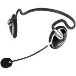 BEHIND-THE-NECK STEREO HEADSET