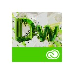 Dreamweaver Creative Cloud Licensing Subscription - Monthly - 1 User - Level 4 100+