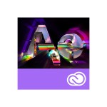 After Effects Creative Cloud Licensing Subscription - Monthly - 1 User - Level 1 1-9