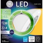 GE LED PAR38 90W Replacement Floodlight / 90 WATT PAR38. (3 Pack)