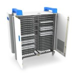 UniCabby Charging Cart - Store and Charge 40 Laptops, Tablets and Chromebooks up to 14in with Power7 Management Sytem & Simultaneous Charging