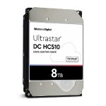 "Ultrastar He10 HUH721008AL5200 - Hard drive - 8 TB - internal - 3.5"" - SAS 12Gb/s - 7200 rpm - buffer: 256 MB"