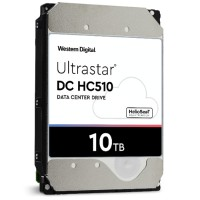 "Hitachi GST Ultrastar He10 HUH721010AL5200 - Hard drive - 10 TB - internal - 3.5"" - SAS 12Gb/s - 7200 rpm - buffer: 256 MB 0F27352"