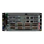 Catalyst 6504-E - Switch - 2 x X2 + 2 x SFP + 1 x 10/100/1000 - rack-mountable - refurbished - with  Virtual Switching Supervisor Engine 720 3C, Fan Tray
